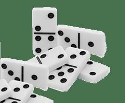 pile de dominos
