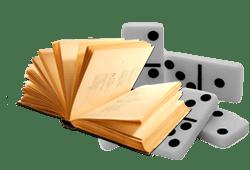 Domino+ livre ouvert